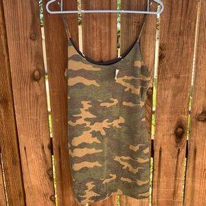 Dresses & Skirts - Camo dress military mini H&M forever 21